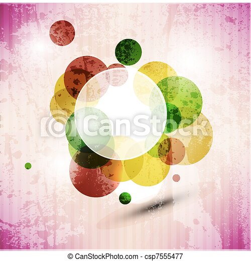 abstract  graphic design pattern background - csp7555477