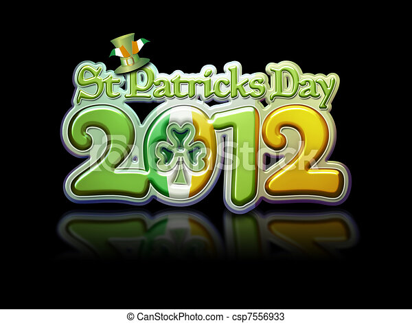 HAPPY ST. PATRICK'S DAY Can-stock-photo_csp7556933