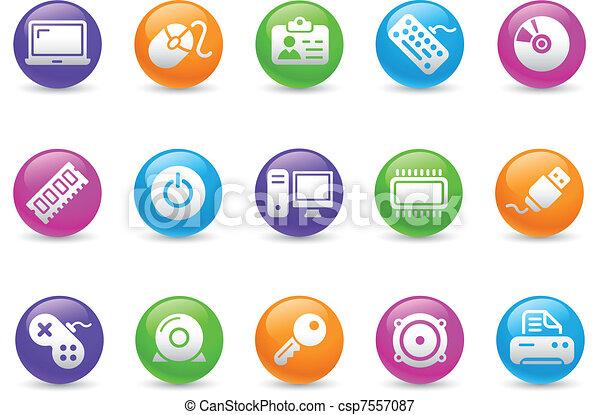 Computer & Devices / Rainbow - csp7557087