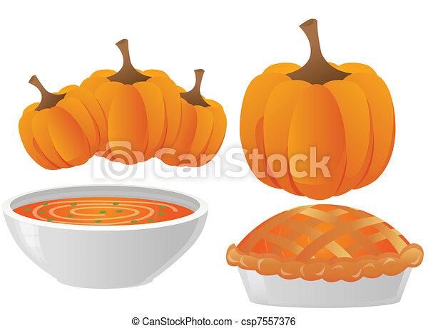 thanksgiving dinner - csp7557376