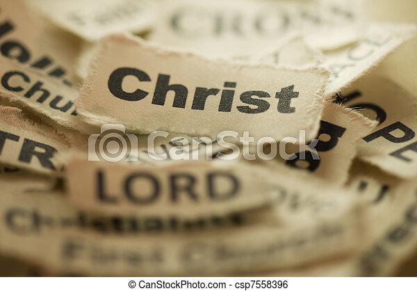 Religion Concept - csp7558396
