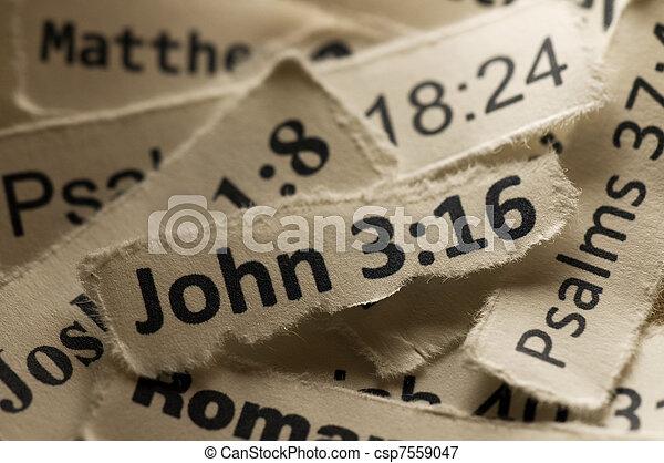 John 3:16 - csp7559047