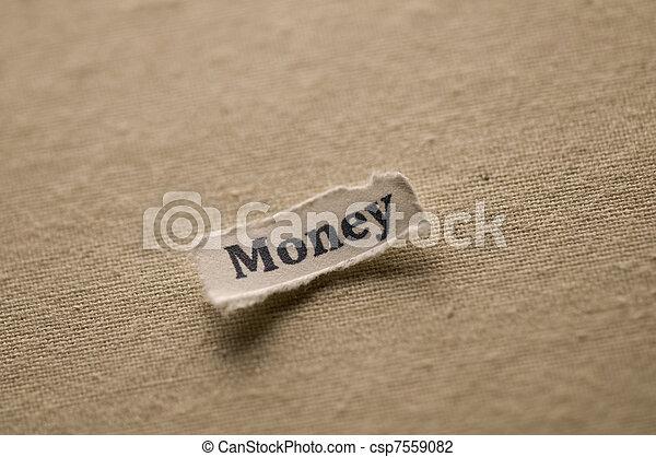 Money - csp7559082
