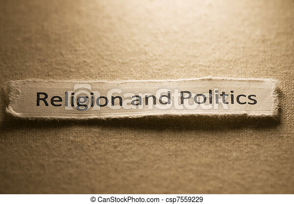 Religion and Politics - csp7559229