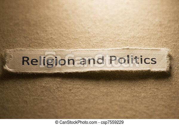 Religion and Politics - csp7559229