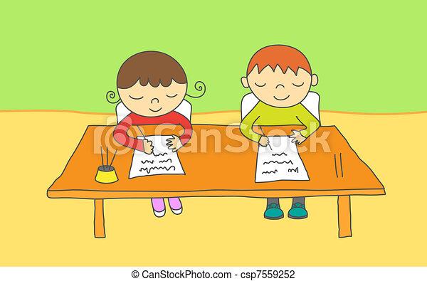 School kids - csp7559252