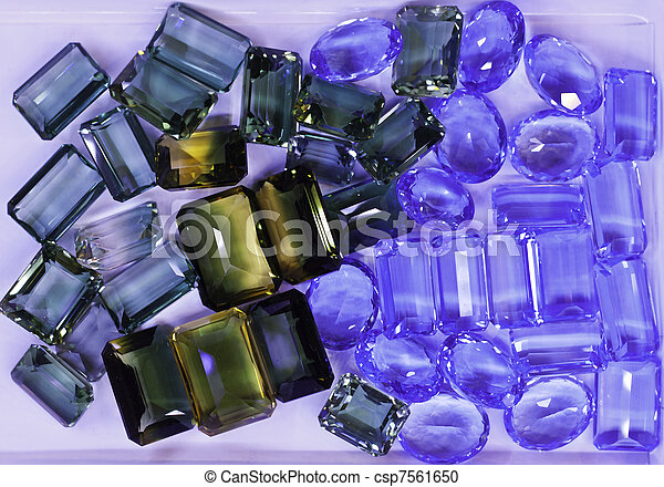 Jewelry and precious stones are the symbol of prosperity, wealth, healing and love. Someone said it's not owner who choose it, it is the jewelry that chooses the owner. - csp7561650
