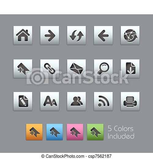 Web Navigation / SatinBox - csp7562187
