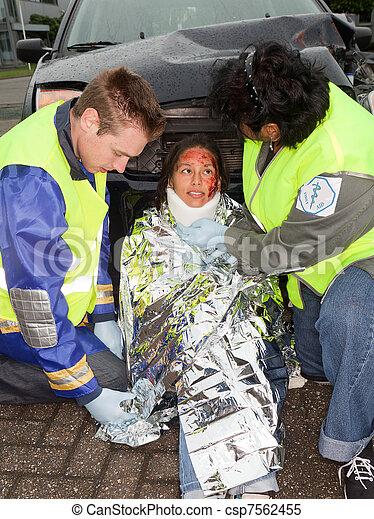 Accident victim - csp7562455