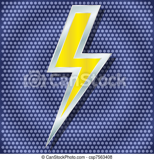 Vector lightning for your design - csp7563408