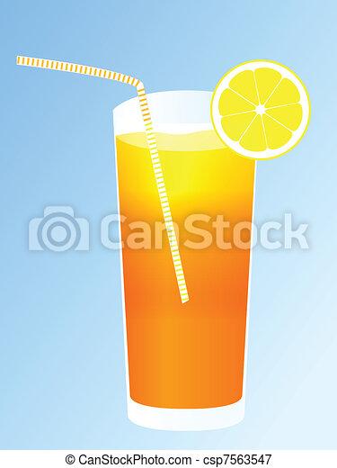 Tropical cocktail - csp7563547