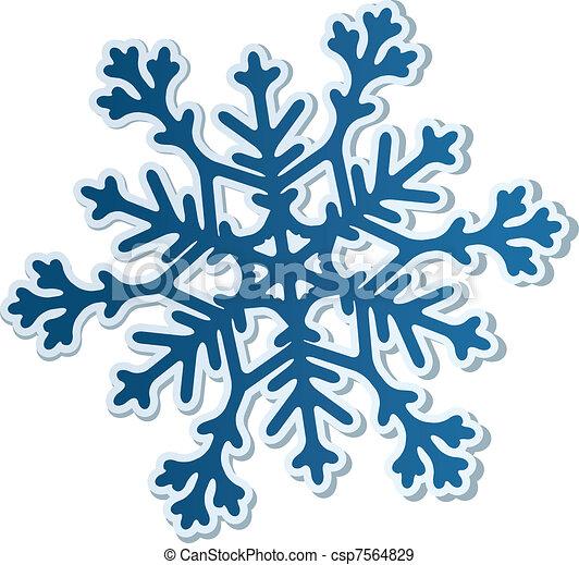 Paper Snowflake - csp7564829