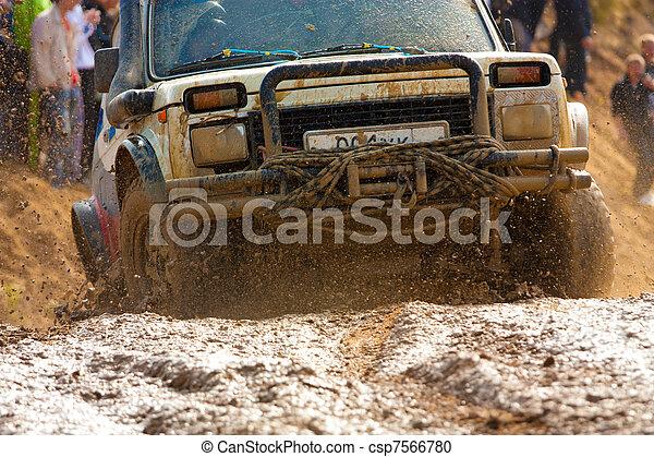 Off roading thrill - csp7566780