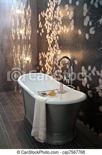 classic bathroom - csp7567768