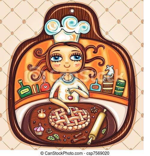 I love cooking - csp7569020