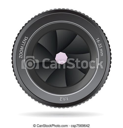Camera Lens - csp7569642
