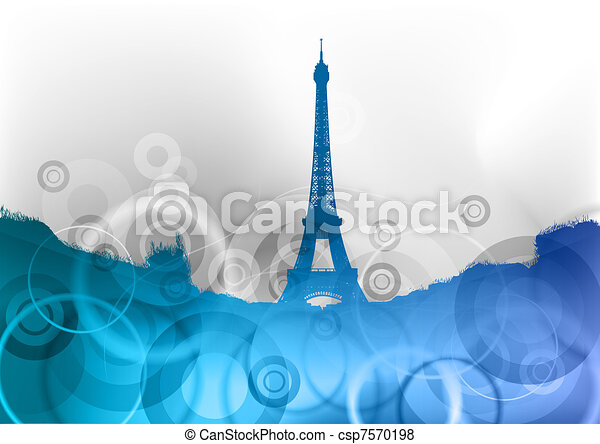 eiffel tower - csp7570198
