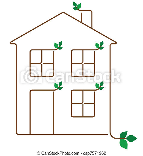 ecology house - csp7571362