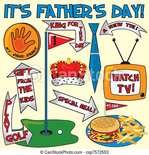 It's Father's Day! - csp7572553