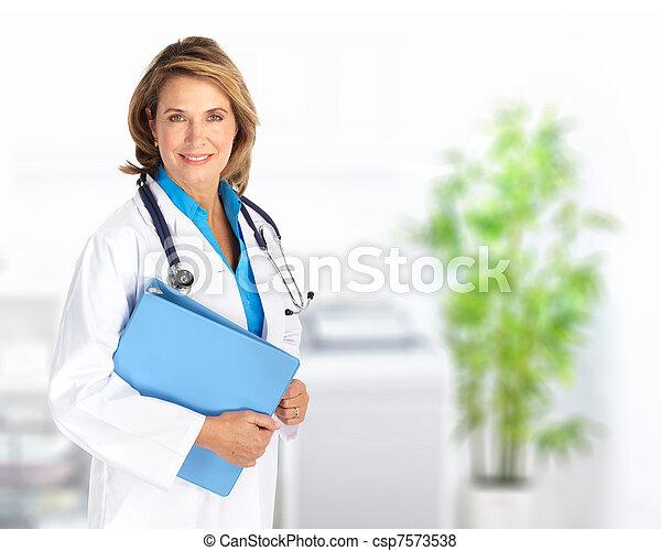 女, 医者 - csp7573538