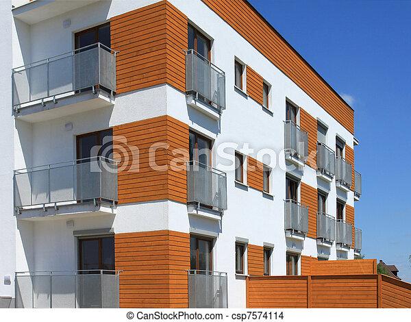 Residential architecture - csp7574114