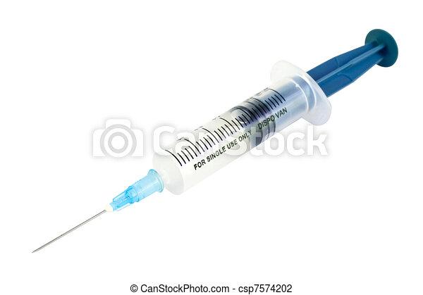 Syringe 50 ml Isolated  - csp7574202