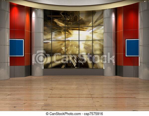 studio  tv - csp7575916