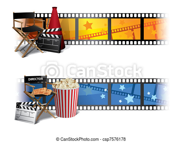 Cinema Banners - csp7576178