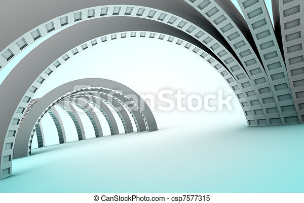 Abstract architecture - csp7577315