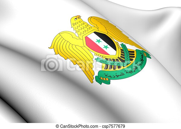 Syria coat of arms - csp7577679