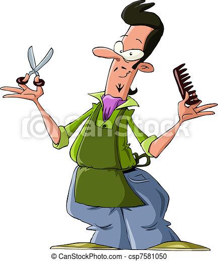 Hairdresser - csp7581050