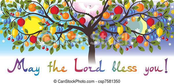 postal of Thanksgiving - csp7581350