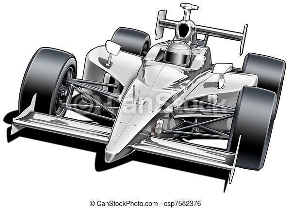 Formula Style Race Car - csp7582376