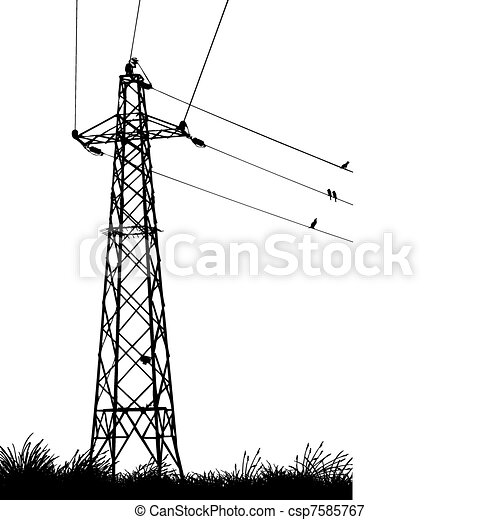 transmission tower - csp7585767
