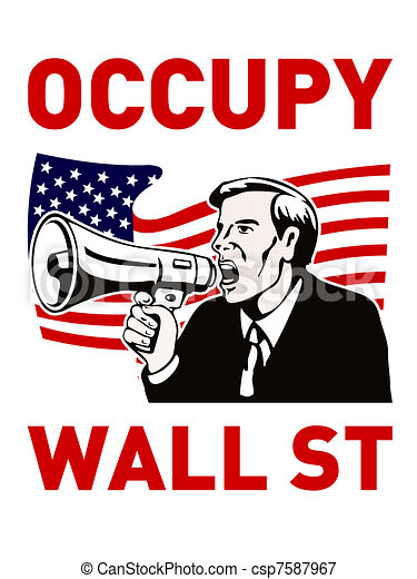 Occupy Wall Street - csp7587967