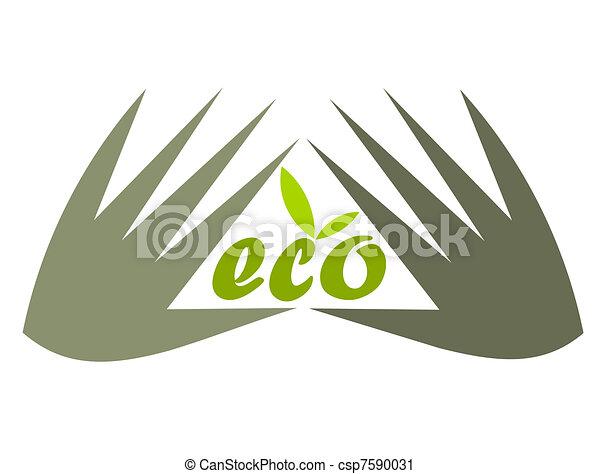 Protective hands - csp7590031