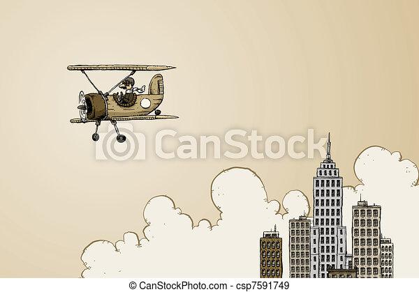 Historic Flight - csp7591749