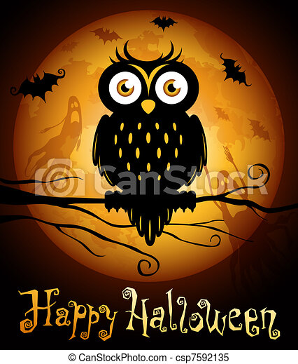 illustrations de halloween  illustration  hibou Cute Owl Clip Art Free Whimsical Owl Clip Art Free