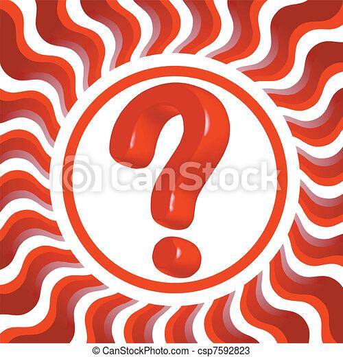 question mark - csp7592823