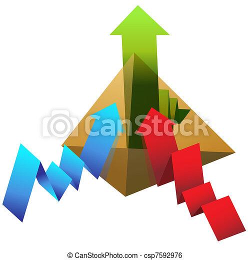 Profit Pyramid - csp7592976
