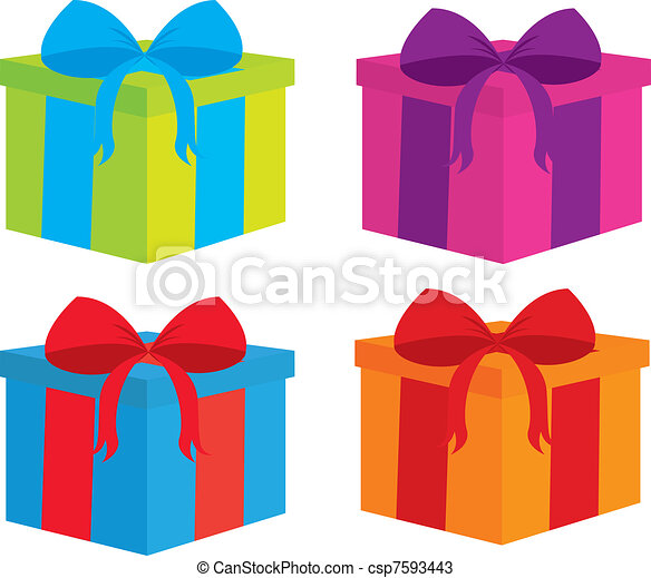gifts vector - csp7593443