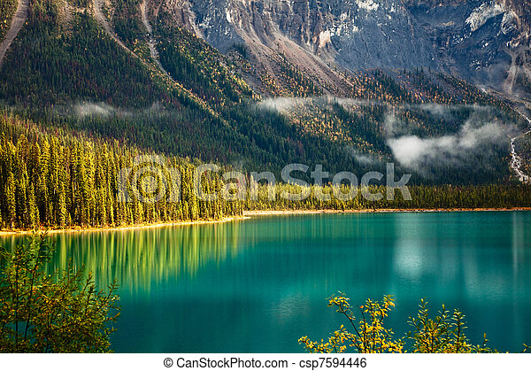 Emerald Lake - csp7594446