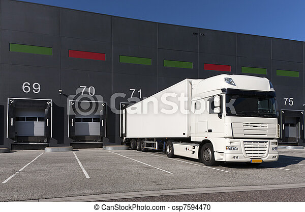 Loading docks - csp7594470