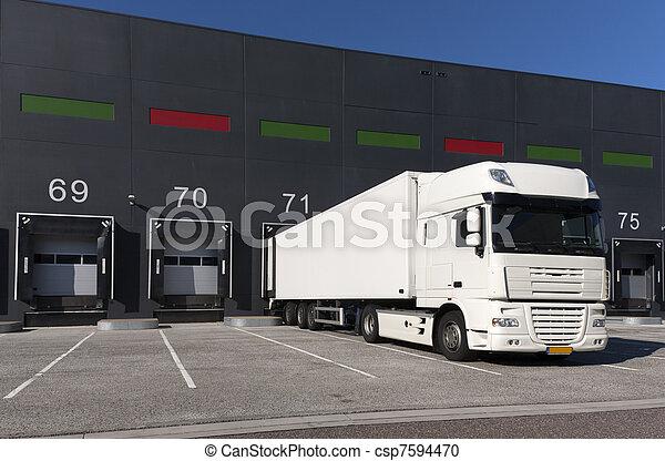 Loading docks - csp7594470