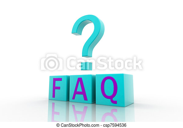Frequently Asked Questions symbol  - csp7594536