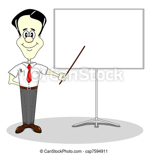 Business presentation - csp7594911