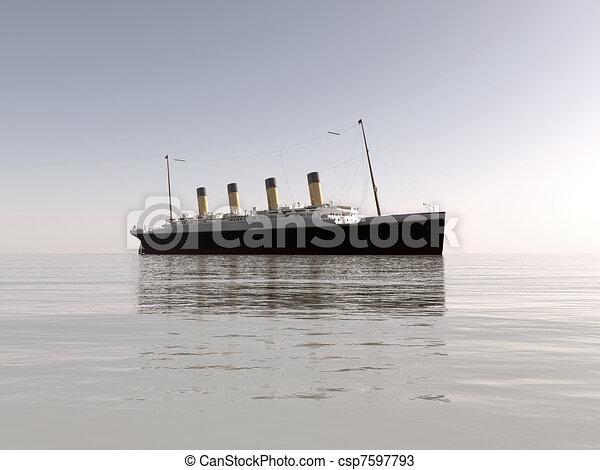 titanic - csp7597793