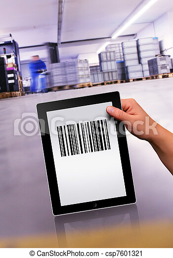 flat tablet pc  - csp7601321