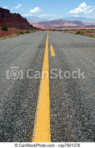 Endless road - csp7601376