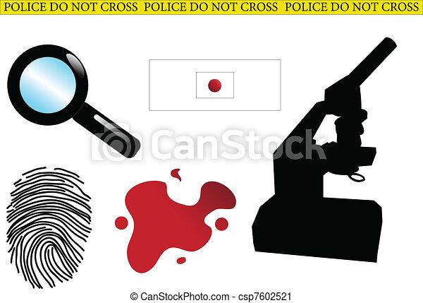 Crime Scene Investigator Clip Art